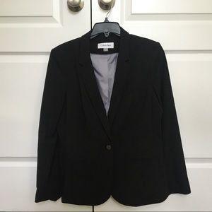 Calvin Klein black blazer, suit jacket